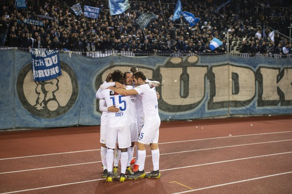 Swiss Cup quarter-final: FC Zurich beat SC Kriens 2-1