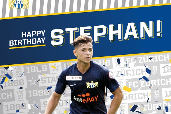 Happy Birthday Stephan Seiler