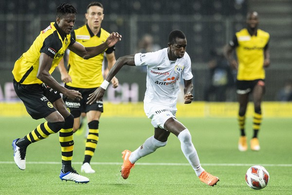 FC Zurich suffer 1-2 defeat against Young Boys Berne
