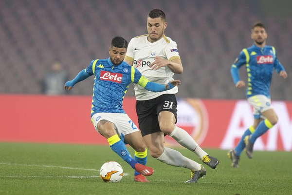 Le FC Zurich s'incline 0-2 contre le SSC Naples