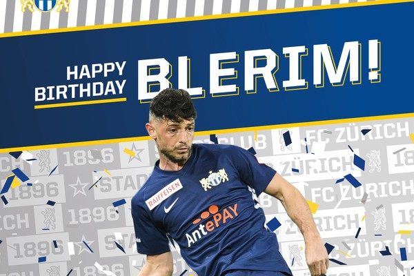 Happy Birthday Blerim Dzemaili