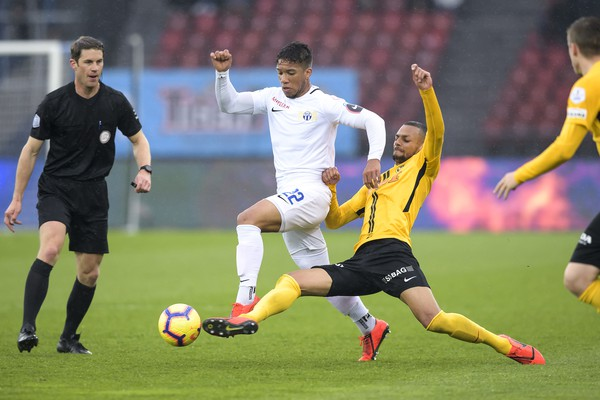 Le FC Zurich s'incline 0-1 face aux Young Boys Berne