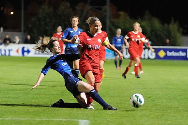 0:1 Defeat against Juvisy: FC Zurich's Ladies Team Eliminated from the UWCL