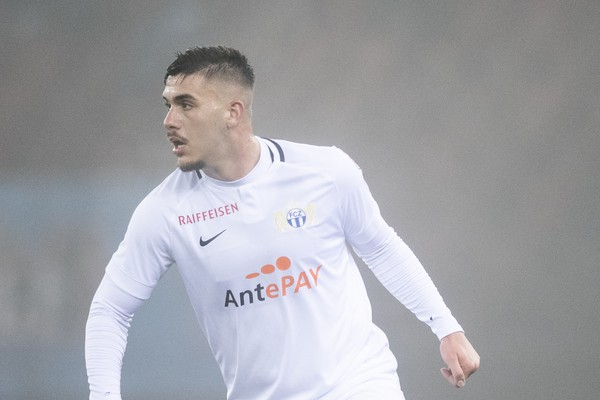 Mirlind Kryeziu joins SC Kriens on loan