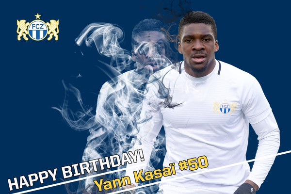 Happy Birthday Yann Kasaï