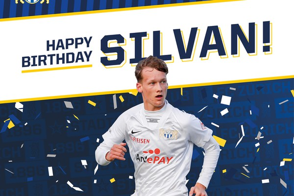 Happy Birthday Silvan Wallner