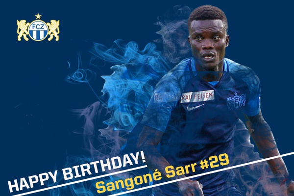 Happy Birthday Sangoné Sarr