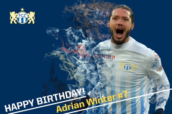 Happy Birthday Adrian Winter