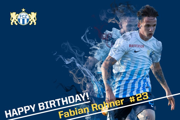 Happy Birthday Fabian Rohner