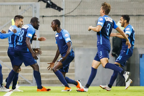 FC Zurich beat FC Sion 2:1