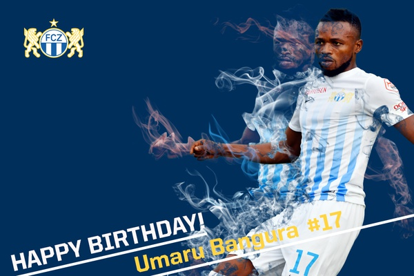 Happy Birthday Umaru Bangura