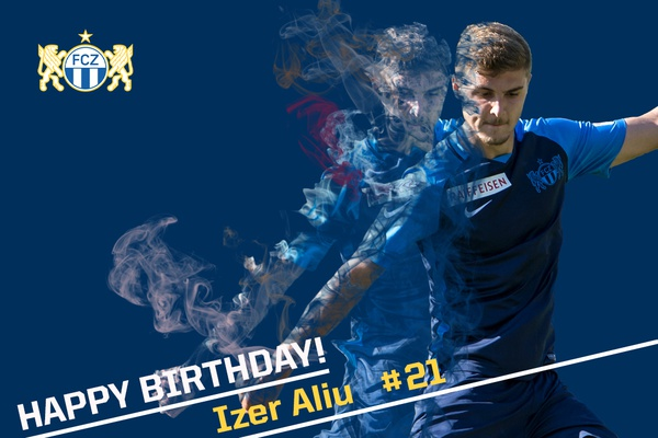 Happy Birthday Izer Aliu