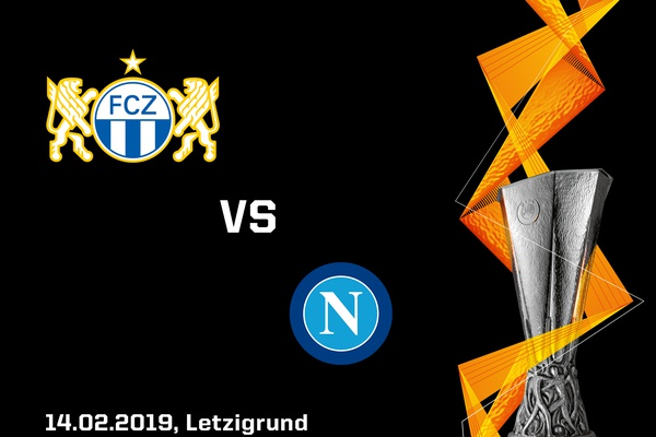 Europa League round of 32: FC Zurich to face SSC Naples