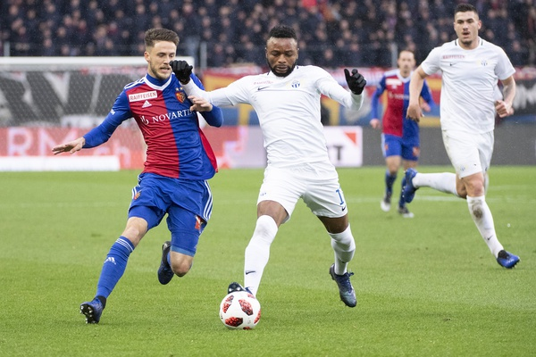 FC Zurich suffer 0:2 defeat against FC Basel