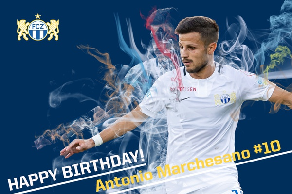 Happy Birthday Antonio Marchesano