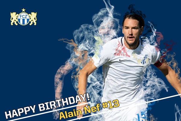 Happy Birthday Alain Nef & Ilan Sauter