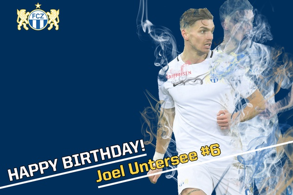 Happy Birthday Joel Untersee