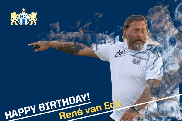 Happy Birthday René van Eck