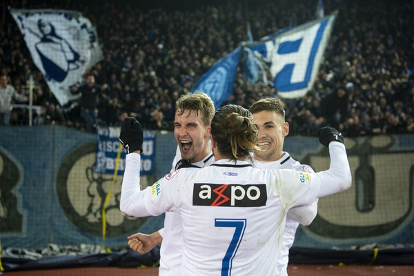 FC Zurich beat Grasshopper Club 3:1