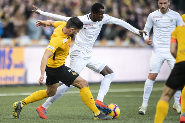 Le FC Zurich s'incline 0-2 face aux Young Boys Berne