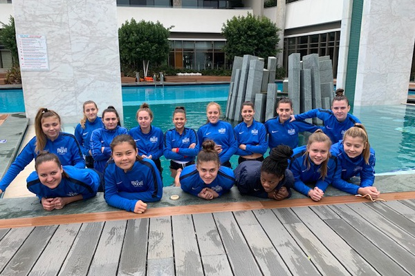 U21 Frauen: Tag 3 im Trainingslager in Side