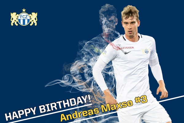 Happy Birthday Andreas Maxsø