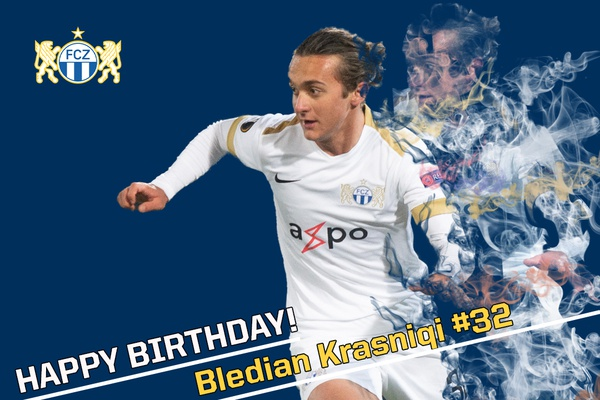 Happy Birthday Bledian Krasniqi