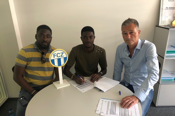 FC Zurich sign defender Dagou Willie Britto